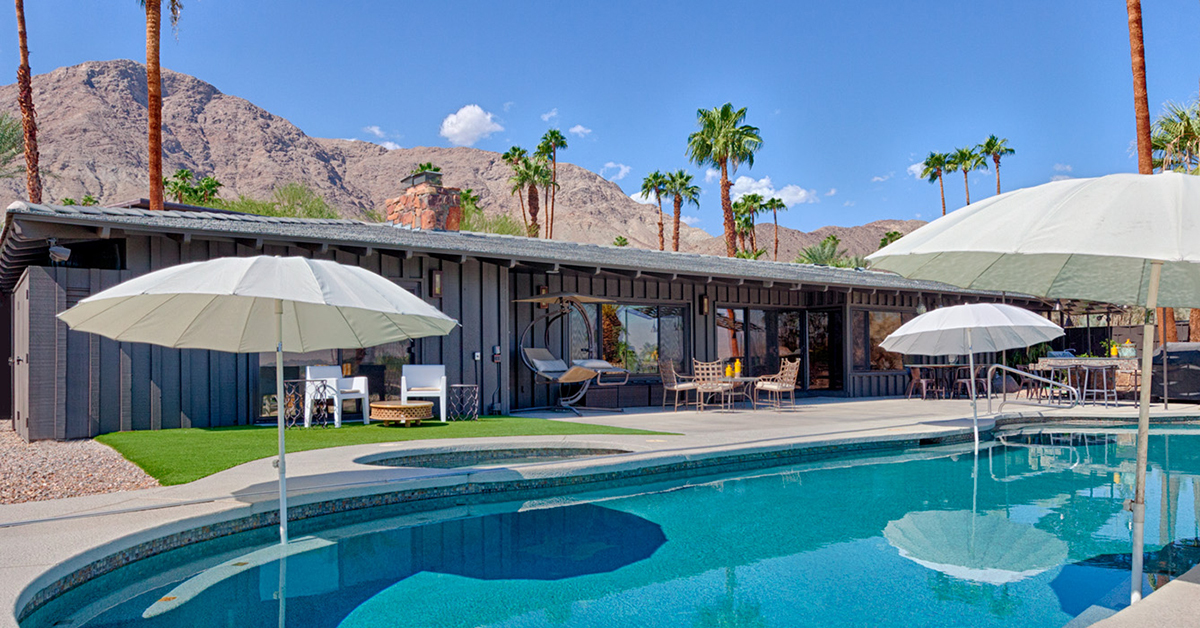 Palm Springs Swimming Pool Homes Palm Springs Real Estate
