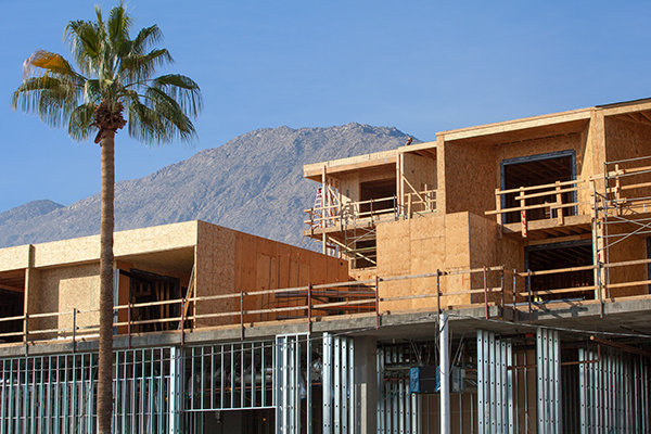 New building in Palm Springs